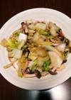 簡単時短!えのきと白菜のバタポン炒め