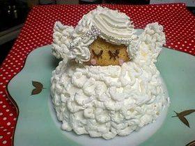 ** 天使のクリスマスケーキ **