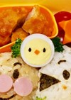 うずらの卵で簡単ひよこちゃん☆キャラ弁