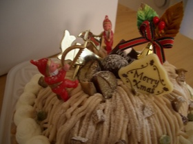 今年のクリスマスはモンブラン♪