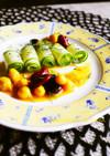 胡瓜のサラダ*豆のピクルスドレッシング