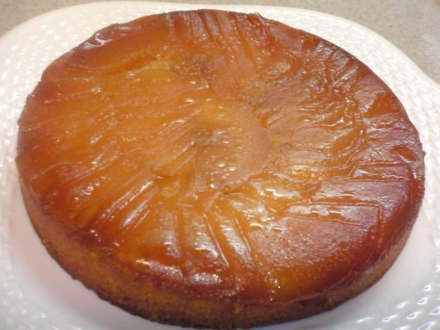 絶品~♪タルトタタン風りんごのケーキ