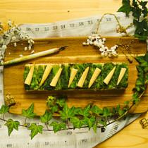 菜の花のおひたしとヤングコーンの素揚げのVEGESUSHI