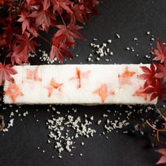 紅葉にんじんの雪隠れ寿司VEGESUSHI