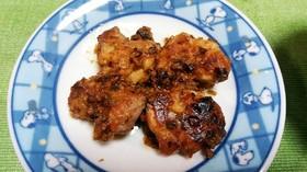 鶏のピリ辛味噌炒め