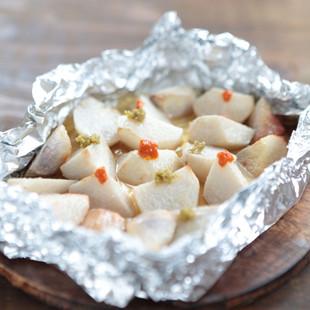 里芋のオイル焼き