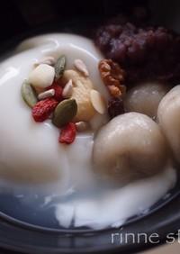 台湾スウィーツ✤杏仁から杏仁豆腐と芋圓