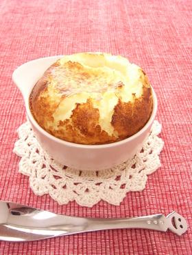 簡単!食べきり♪ふわしゅわ☆チーズケーキ