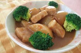 大根と豚ロースの韓国風★味噌煮