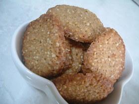 ボウル1つで簡単 セサミクッキー