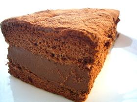 牛乳パックで作る濃厚生チョコケーキ