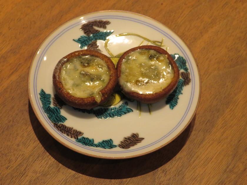 椎茸のチーズ焼き