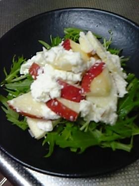 マヨおろしとりんごのサラダ