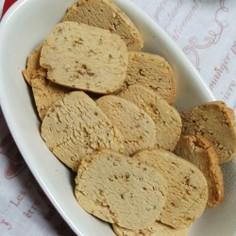 トースターで!ゴマ入りきな粉クッキー