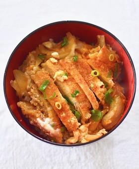 【基本】めんつゆで簡単♪絶品カツ丼