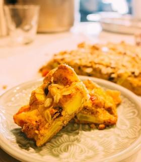 【母から】りんご&サツマイモの滋味ケーキ