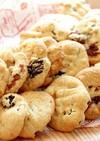 簡単さくさくレーズンバタークッキー