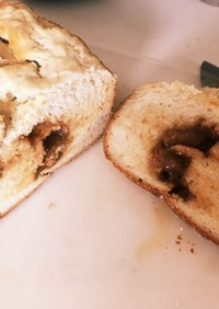 市販の森永キャラメルで米粉食パン
