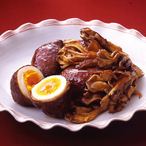 ゆで卵の牛肉巻き