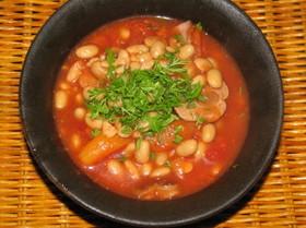 大豆のトマト煮込み