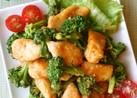 鶏胸肉とブロッコリーのオーロラソース炒め