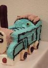 お誕生日に♪立体トーマスケーキ