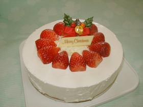 真っ白いレアチーズケーキ