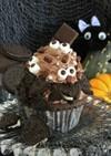 簡単ハロウィン★目玉のチョコカップケーキ