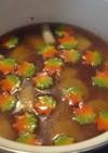 長芋ともみじ麩の煮物