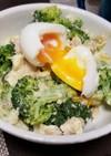 卵とブロッコリーのサラダ!