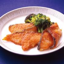 鮭のオリーブオイル焼き