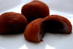 バレンタインに♪一口サイズの生チョコ大福