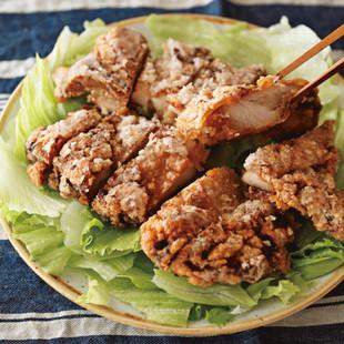 香味しょうゆの揚げ鶏
