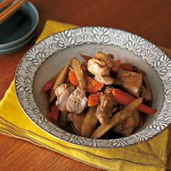 鶏ももとごぼうの筑前煮