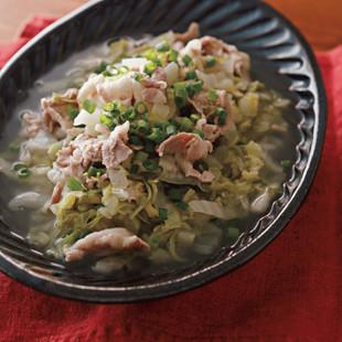 豚バラと白菜のうま塩煮