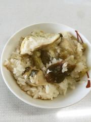 サワラ飯の写真
