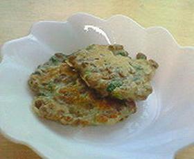 納豆のモチモチ焼き