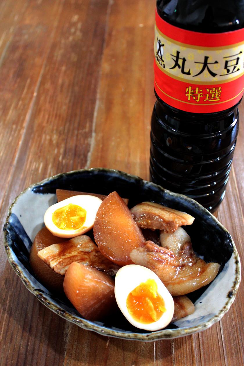 豚バラ大根とろとろ煮卵