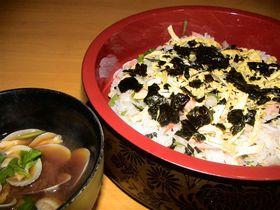 初心者でも簡単!美味しい、シャケばら寿司