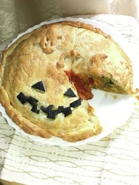 おかずかぼちゃパイ