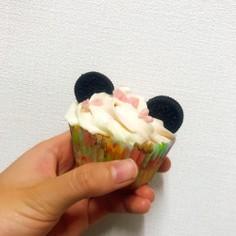 ミニーちゃんのカップケーキ