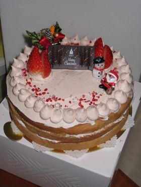 '07 クリスマスケーキ