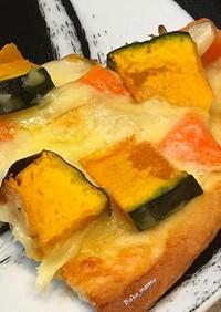 グラタンリメイクのおうちピザ