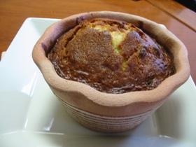 植木鉢のブランデーケーキ