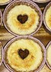 バナナと生おからのシフォン風ケーキ