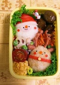 クリスマスキャラ弁