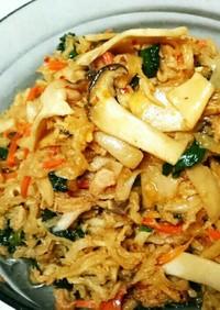 切り干し大根とツナの中華風炒め煮♥簡単☆