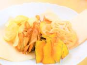 米油でサクサクッ☆野菜チップスの写真