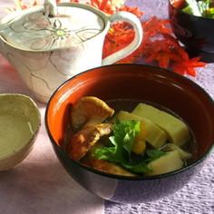 松茸の椀物