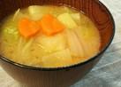 野菜たっぷり☆生姜入りお味噌汁☆
